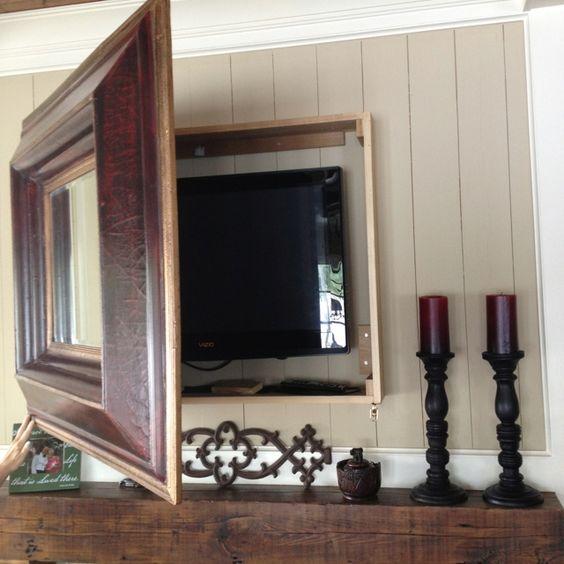 TV v rámu